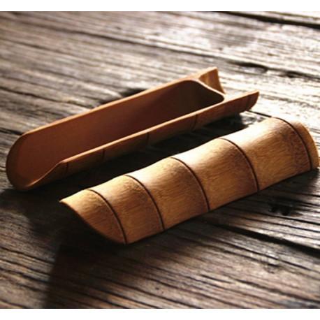 Чахе из бамбука (лопаточка в комплекте)