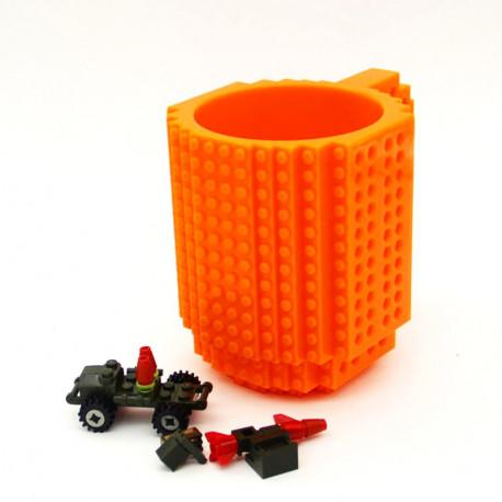 Кружка лего (конструктор), 350 мл