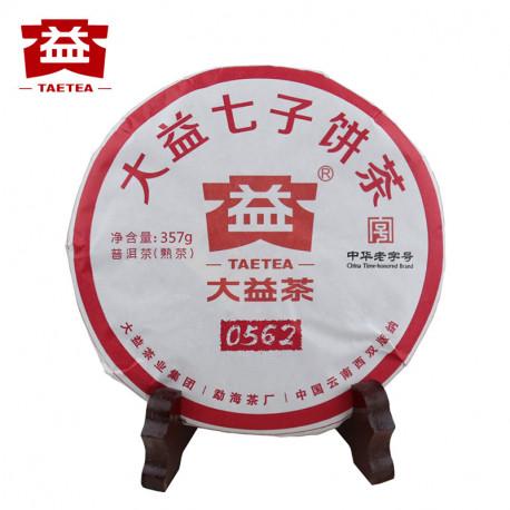 Чай Шу пуэр 0562, 357 гр.