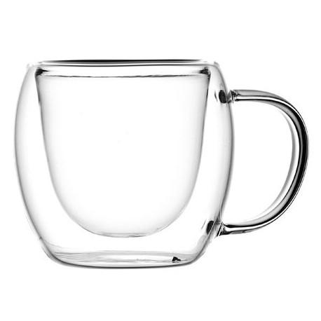 Чашка с двойными стенками, 250 мл.