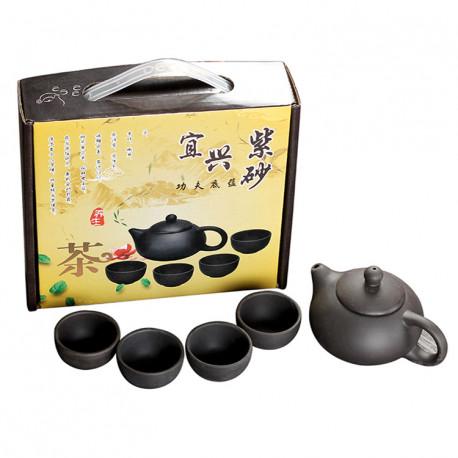 Набор для чайной церемонии на 4 персоны, глина