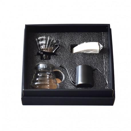 Подарочная коробка: набор для приготовления кофе